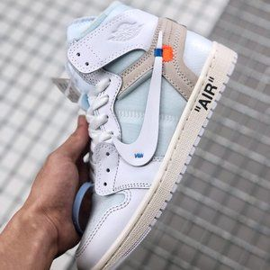 Air Jordan 1 X OFF-WHITE Pure White